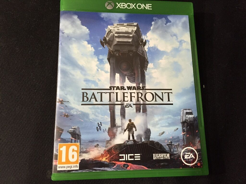 Star Wars Game For Xbox 1 : Xbox one star wars battlefront used once £ in sutton