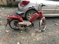 Batavus vintage powered pushbike