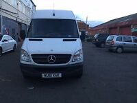 2011 MERCEDES BENZ SPRINTER 2.2 DIESEL MANUAL 3 SEATER WHITE 10M MOT QUICK SALE!!!