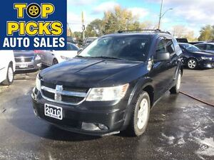 2010 Dodge Journey SXT, ALLOYS, FOG LIGHTS, POWER SEAT, LOW MILE