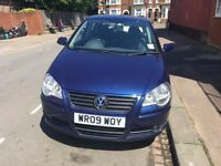 Volkswagen Polo 1.2 2009 Blue