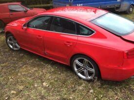 BREAKING Audi A5 Sportback 2013 S-Line