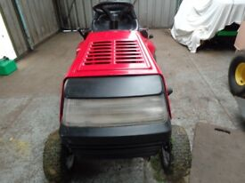 Lawnflite 604 11.5 hp Briggs and Stratton engine with semi-auto drive.Ride on mower.