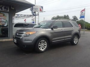 2012 Ford Explorer XLT 7 Passenger Navigation Back up Camera