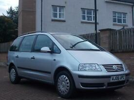 F/S/H VOLKSWAGEN SHARAN 1.9 TDI AUTO *DIESEL AUTO 7 SEATER* 2006 - DOCUMENTED SERVICE HISTORY
