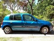 2002 Renault Clio Hatchback, Automatic Narrabundah South Canberra Preview