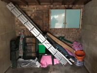 Triple 8ft 10in length ladder for sale