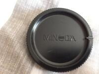 Minolta / Sony Alpha body cap