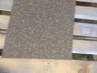 Carpet tiles beige grey double insulated heavy duty