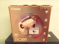 Canon Camcorder DC201