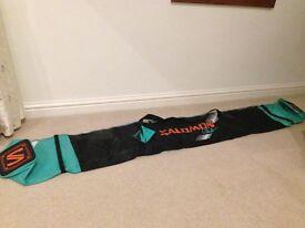 Salomon Ski bag green and black not used label still on!