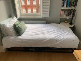 BRAND NEW single bed frame & mattress *PICKUP KENSINGTON OLYMPIA*