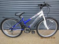 GIRLS REFLEX TRADITIONAL BIKE IN EXCELLENT LITTLE USED CONDITION.. (SUIT APPROX. AGE. 8 / 9+)..