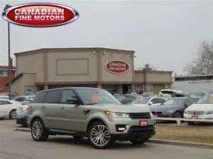 2014 Land Rover Range Rover Sport V8 SUPERCHARGED- 21 INCH WHEEL