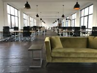 Desks in newly refurbished Co-work Office space in Digbeth! £150 all inc