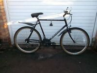 vintage classic 1990 gents raleigh cyclone mountain bike in very good condition (£60 no offers)