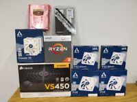 AMD Ryzen 3 2200G VEGA Graphics AM4 CPU w/ Wraith Stealth Cooler - BUNDLE