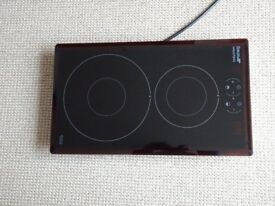 Induction Hob SMEG SI3321B 2 zones, high spec, will suit small kitchen, boat, motorhome