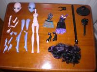 Monster High Create a Monster Vampire and Sea Monster