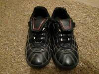 Clarks boys black trainers size 10.5H