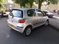 TOYOTA YAIRS 1.0 12MONTH MOT DRIVES SUPERB CHEAP INSURANCE CLEAN TIDY FOR IT'S MECHANICALLY SOUND