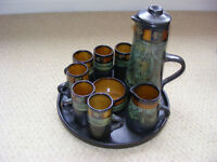 coffee set (beautiful condition never used ) asnew