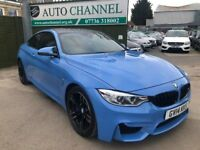 BMW M4 3.0 DCT (s/s) 2dr£30,995 p/x welcome FINANCE AVAILABLE!