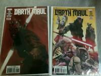 Darth Maul Comics #1 & #3 - Rated t - Marvel