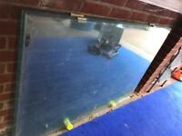 Reduced ** Structural glass panels x4 price is for all 4