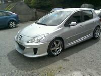 06 Peugeot 307 5 door only 56000 mls history ( can be viewed inside anytime)
