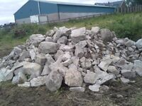 Granite Building Stone - approx 20 tonne from old dwelling recently demolished