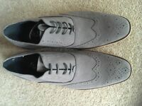 New men's grey shoes (size 11)