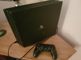 Ps4 Pro 1TB Console With Controller, Stand & 10 Games