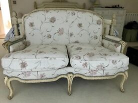 Vintage two seater settee