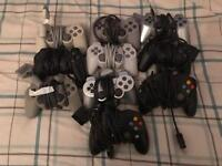 Official Sony PlayStation & Xbox controllers