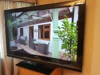 "SONY 40"" TV flatscreen bravia full HD 1080 LCD with freesat"