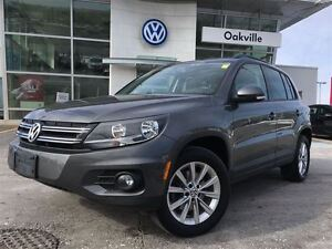 2014 Volkswagen Tiguan CL/NAV/SUNROOF/1 OWNER!