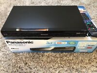 Panasonic 3D Blu-ray player and Freeview+ HDD recorder