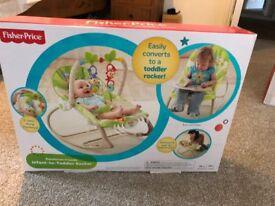 Fisher-Price Infant to Toddler Rocker - Rainforest Friends