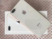 IPhone 8 Plus in Gold 64gb