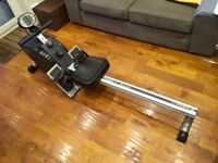 Really good foldable rowing machine hardly used complete with manual.