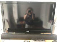 Toshiba TV with soundbar