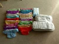 Bum genius nappies x 20