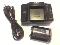 Nikon Quick Charger & Li-ion Rechargeable Bat