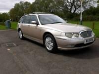 Rover 75 diesel Estate mot August runs well