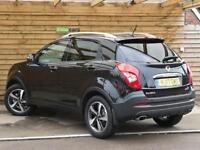 SsangYong Korando 2.2 ELX 4x4 5dr DEMONSTRATOR (space black metallic) 2017