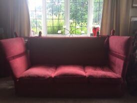 Three seater sofa.