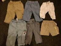 Baby boy clothes bundle 3-6 months, 6-9 months and 9-12 months