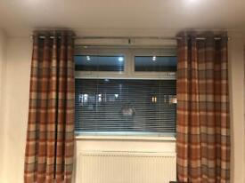 2 pairs of Next curtains 66x72 inch