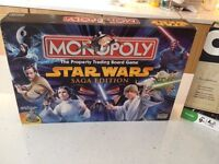 Board games Star wars Saga Edition monopoly, Cleudo discover the secrets